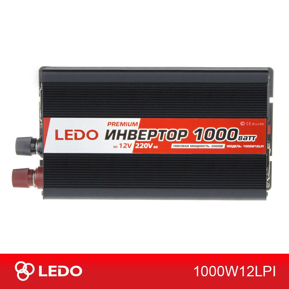 Инвертор 12V-220V 1000W LEDO PREMIUM
