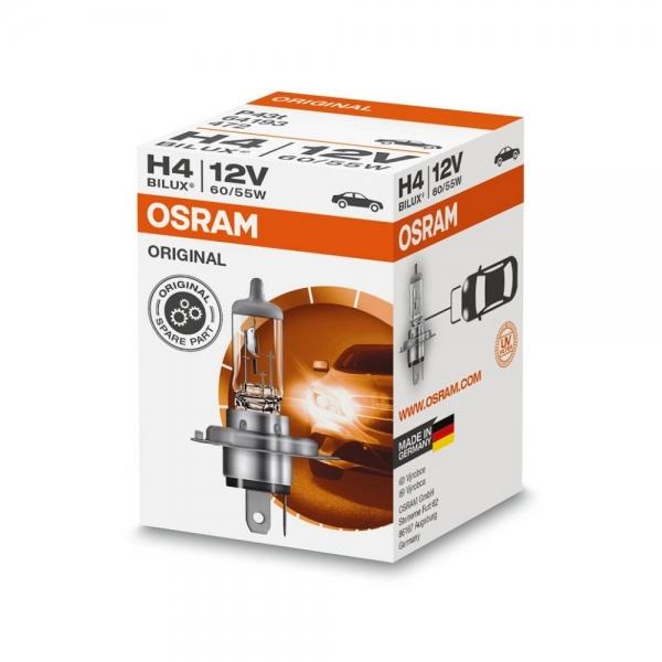 Автолампа H4 (60/55) P43t-38 12V OSRAM