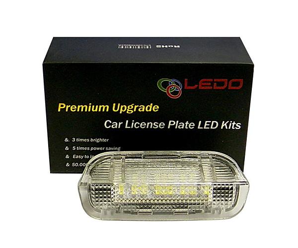 Светодиодная подсветка передних дверей VW SKODA PORSCHE