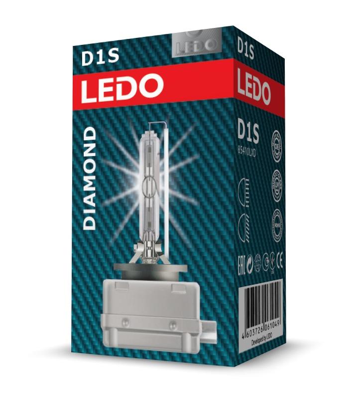 Лампа D1S 5000K LEDO Diamond