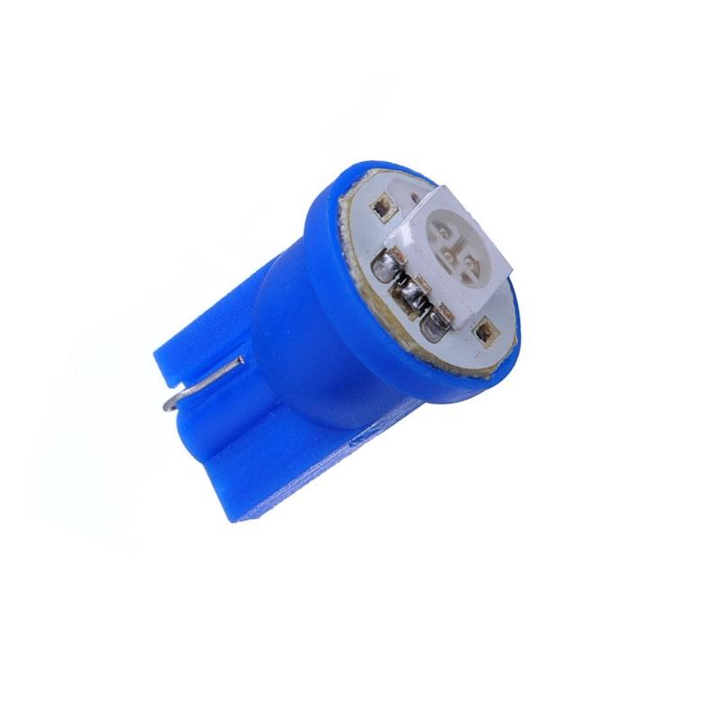 Лампа светодиодная W5W 12V 1SMD син