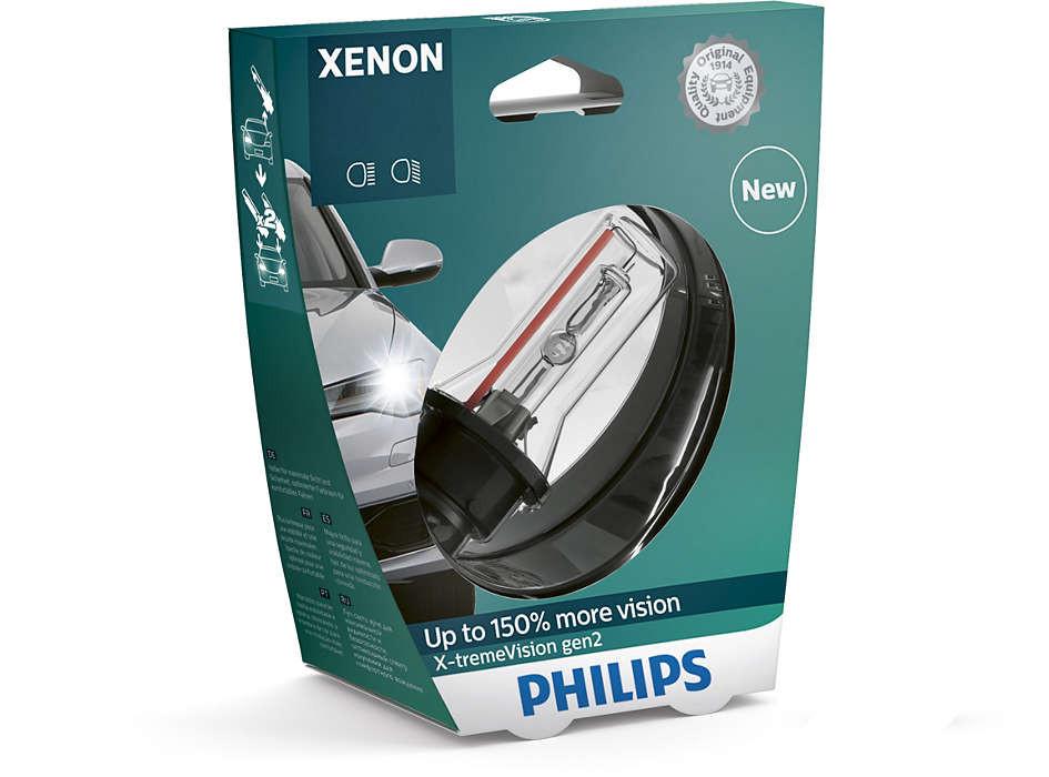 Автолампа D4S (35) P32D-5+150%  XENON X-TREME VISION gen2  4800K 42V PHILIPS