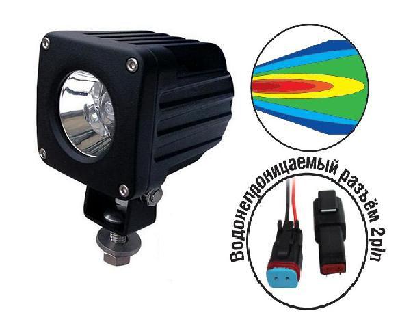 """Светодиодные фары """"OFF-Road"""" AVS Light SL-1410A (10W) серия """"Extreme Vision"""""""