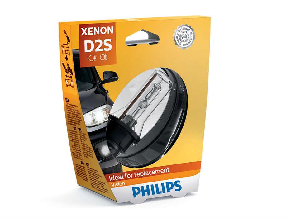 Автолампа D2S XENON VISION 4600K PHILIPS (блистер)