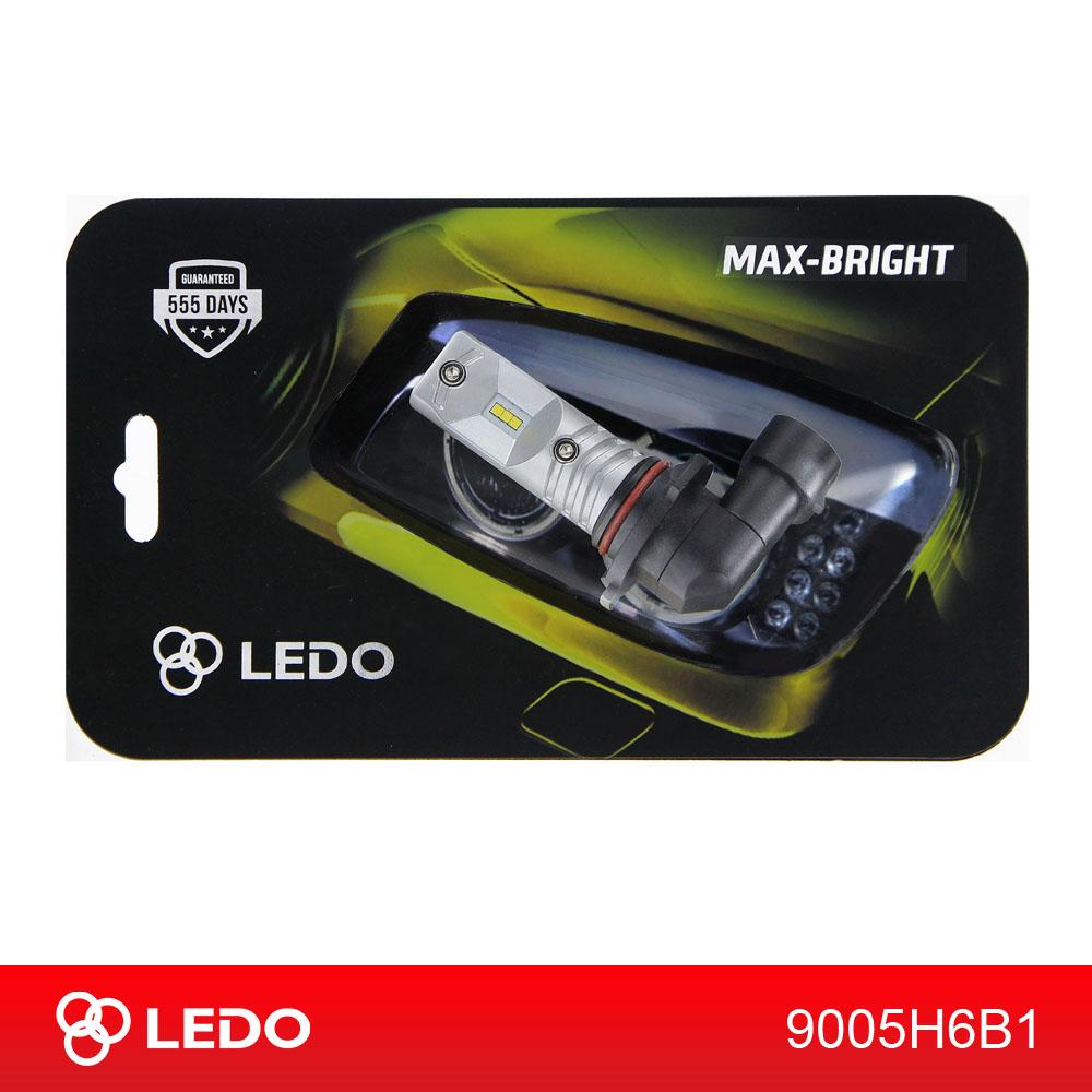 Лампа светодиодная HB3 (9005) LEDO Max-Bright 6CSP 12V