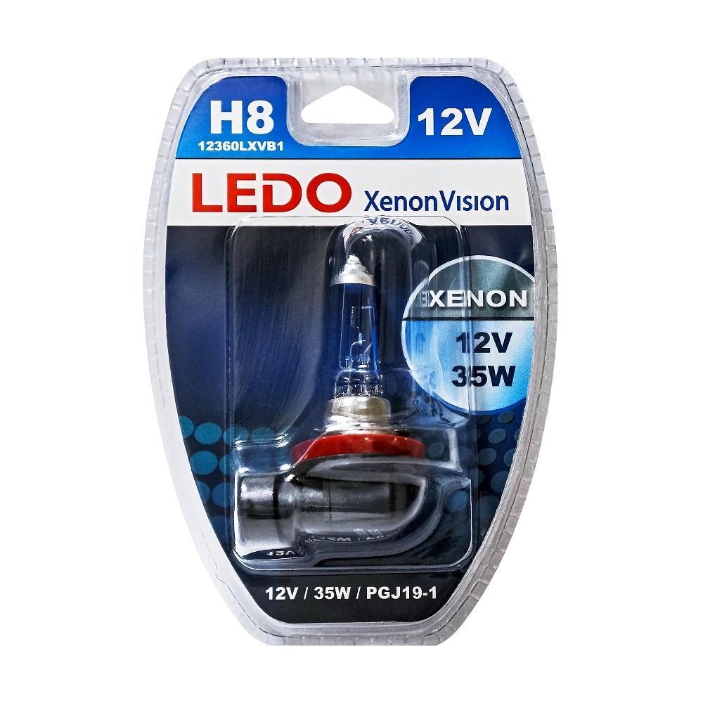 Лампа H8 LEDO XenonVision 12V 35W блистер