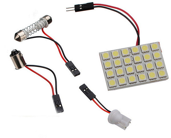 Светодиодная панель 24SMD белая