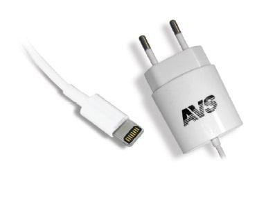 Сетевое зарядное устройство AVS для iphone 5/6 TIP-511 (1,2A)