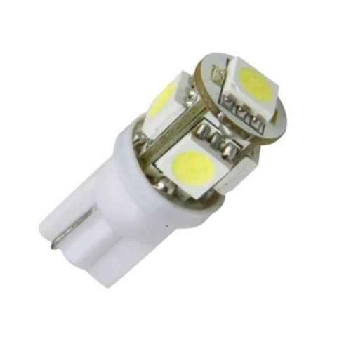 Лампа светодиодная W5W / T10 24V 5SMD белая