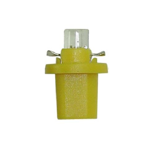 Лампа светодиодная W1.2W / BX8.5d 12V 1LED для иномарок жёлтая