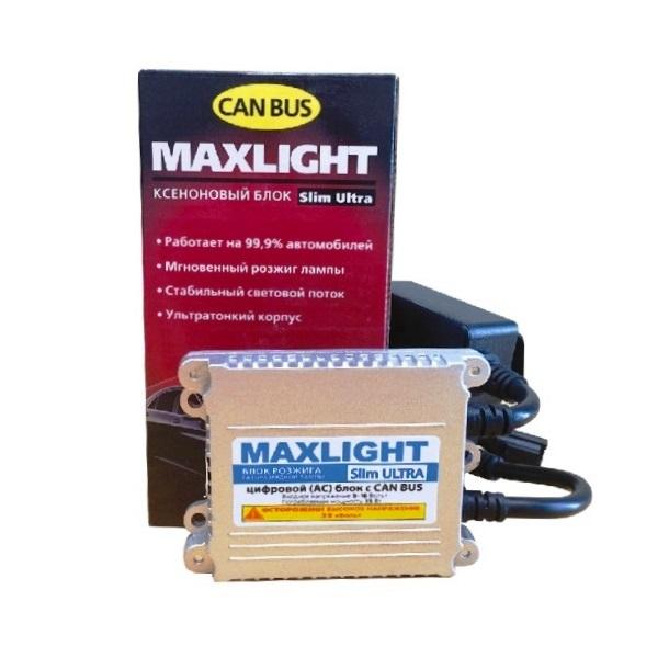 Блок розжига MaxLight Slim Ultra 9-16V с обманкой