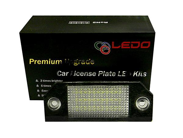 Светодиодная подсветка номера на Ford Focus 2