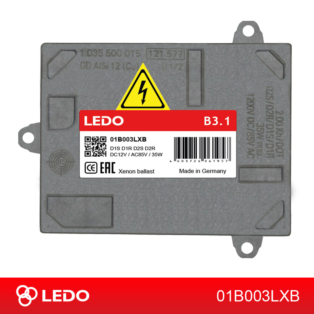 Блок розжига LEDO B3.1 D1/D2