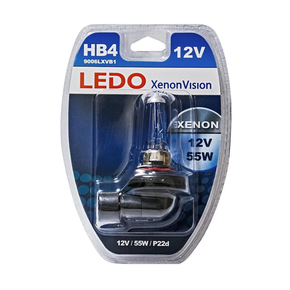 Лампа HB4 LEDO XenonVision 12V 55W блистер