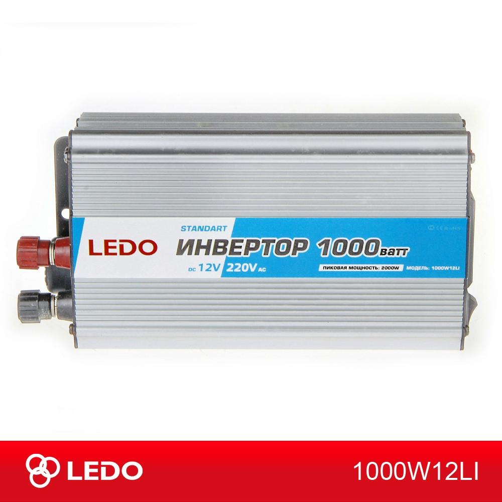 Инвертор 12V-220V 1000W LEDO Standart