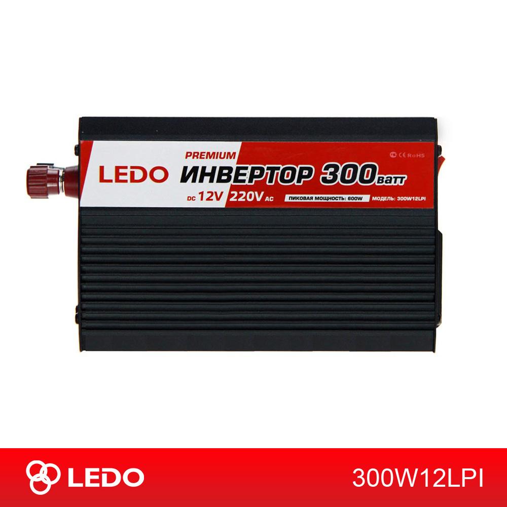 Инвертор 12V-220V 300W LEDO PREMIUM