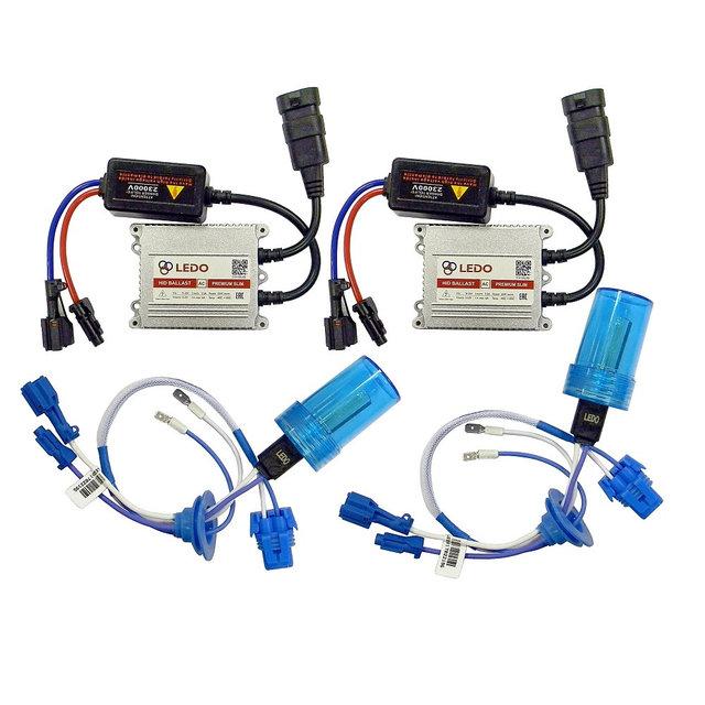 Комплект ксенона H7 5000K LEDO Premium (AC/12V)