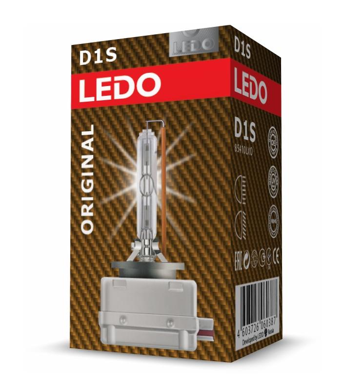 Лампа D1S 4300К LEDO Original
