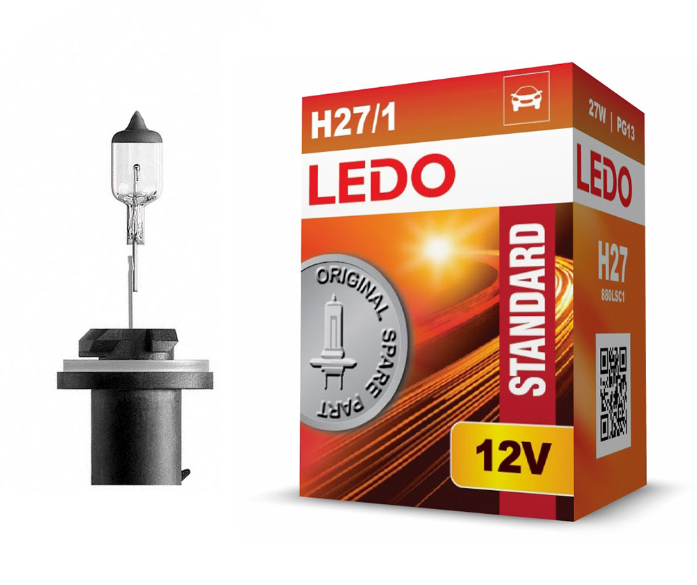 Лампа H27 (880) LEDO Standard 12V 27W