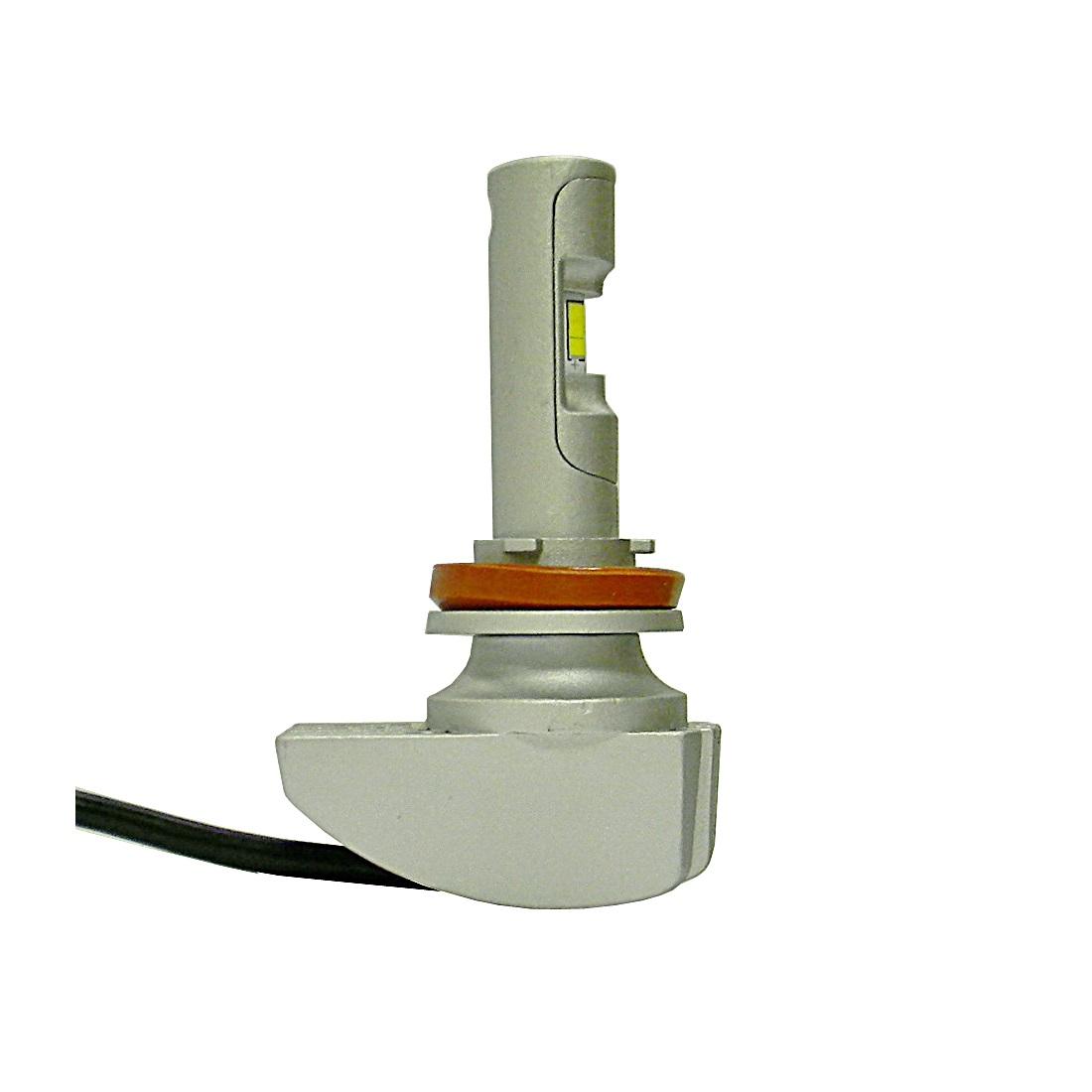 Лампа светодиодная H8/H9/H11/H16 SEMILEDS (38W 4000Lm 5500K)
