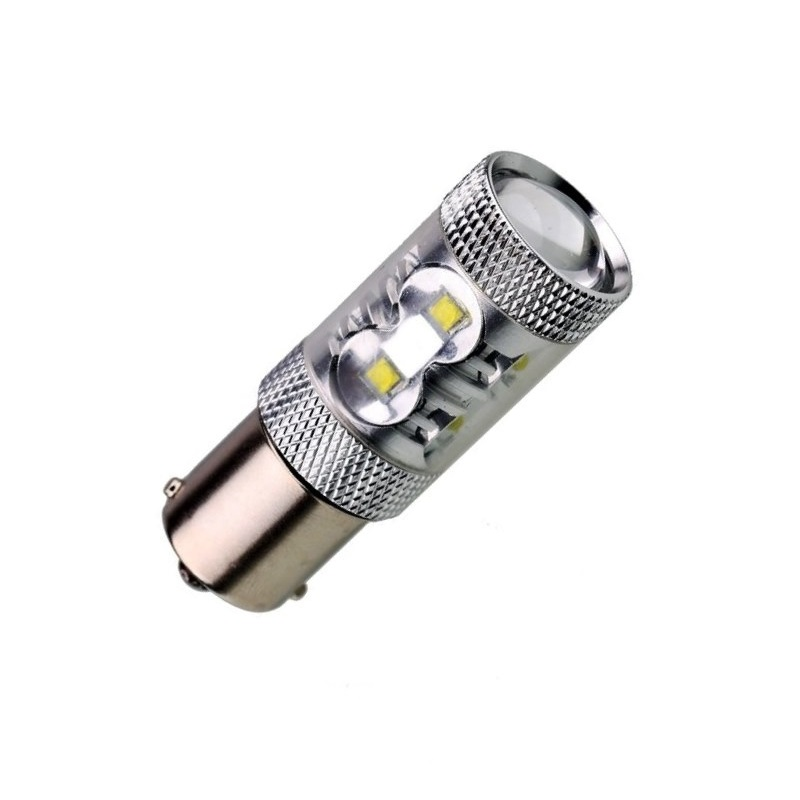 Лампа светодиодная P21W / BA15S 12V  50W OSRAM chip