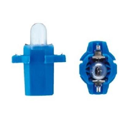 Лампа светодиодная W1.2W / BX8.3d 12V 1LED для русских синяя