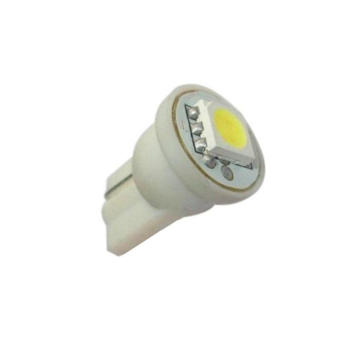 Лампа светодиодная W5W 12V 1SMD бел