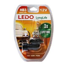 Лампа HB3 LEDO LongLife 12V 65W блистер