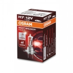 Автолампа H7 (55) PX26d+110% NIGHT BREAKER UNLIMITED (блистер) 12V OSRAM