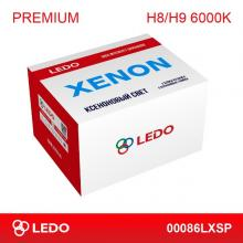 Комплект ксенона H8/H9 6000K LEDO Premium (AC/12V)
