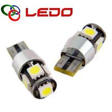 Лампа светодиодная W5W LEDO 12V 5SMD с обманкой