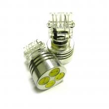 Лампа светодиодная P27W 3156 12V HP 4W белая