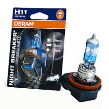 Автолампа H11 (55) PGJ19-2+110% NIGHT BREAKER UNLIMITED (блистер) 12V OSRAM