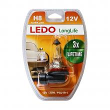 Лампа H8 LEDO LongLife 12V 35W блистер