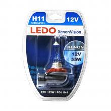 Лампа H11 LEDO XenonVision 12V 55W блистер