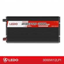 Инвертор 12V-220V 3000W LEDO PREMIUM