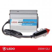 Инвертор 12V-220V 200W LEDO Standart
