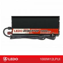 Инвертор с зарядным устройством 12V-220V 1000W LEDO PREMIUM