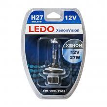 Лампа H27 (880) LEDO XenonVision 12V 27W блистер