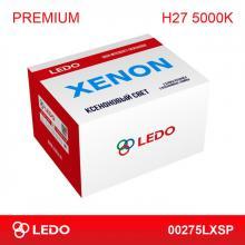 Комплект ксенона H27 5000K LEDO Premium (AC/12V)