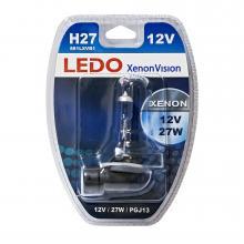 Лампа H27 (881) LEDO XenonVision 12V 27W блистер