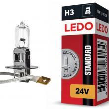 Лампа H3 LEDO Standard 24V 70W