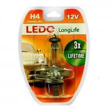 Лампа H4 LEDO LongLife 12V 60/55W блистер