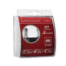 Лампа H7 LEDO SuperVision +100% 12V Duobox 2шт