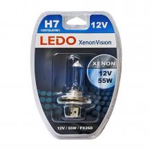 Лампа H7 LEDO XenonVision 12V 55W блистер
