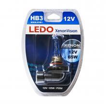 Лампа HB3 LEDO XenonVision 12V 65W блистер