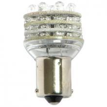 Лампа светодиодная BA15D 24V 27LED красная