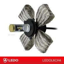Лампа светодиодная H4 Hi/Low LEDO L6C (PHILIPS LUXEON Z ES)