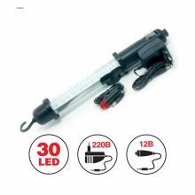 Переносной светильник диодный CD306A 30 светодиодов 220В/12В встроенный аккумулятор
