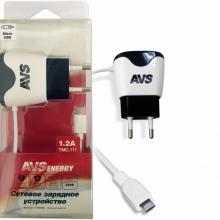 Сетевое зарядное устройство AVS с micro USB TMC-111 (1,2А)